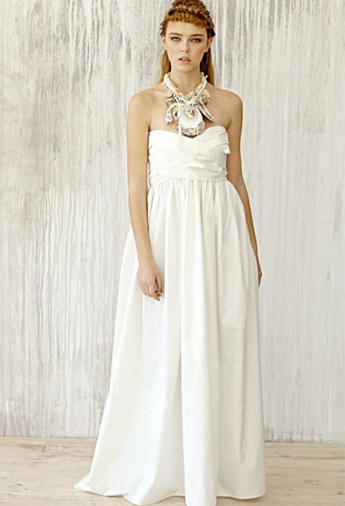 Пляжное свадебное платье VICTORIA SPIRINA